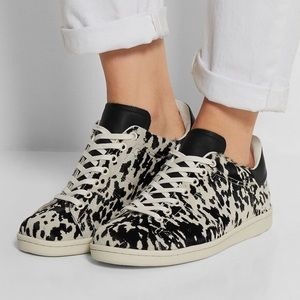 Isabel marant | Bart calf hair sneakers leather 35